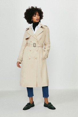 Coast Belted Long Trench Coat