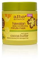 Alba Hawaiian Cocoa Butter Deep Conditioning Minute Mask