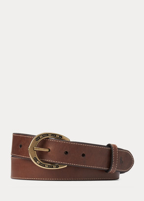 Ralph Lauren Equestrian Harness Belt