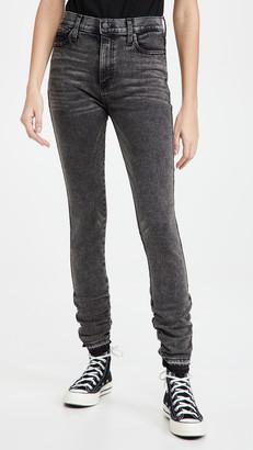 Alice + Olivia Jeans Good Stacked Skinny Jeans