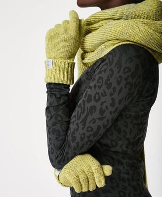 Sweaty Betty Texture Merino Knitted Gloves
