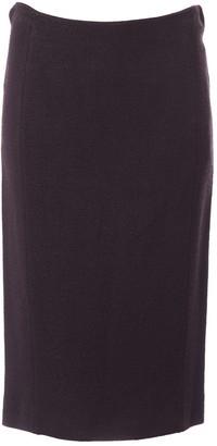Moschino Purple Cashmere Skirt for Women