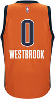 adidas Men's Russell Westbrook Oklahoma City Thunder New Swingman Jersey