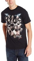 WWE Men's Group Shot Logo T-Shirt