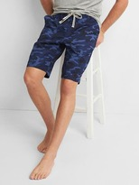"Gap Poplin print sleep shorts (10"")"