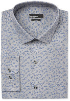 Bar III Men's Slim-Fit Striped Floral Dress Shirt, Only at Macy's