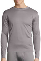 ST. JOHN'S BAY St. John's Bay Box Mesh Thermal Shirt