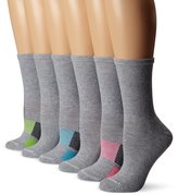 Hanes Women's ComfortBlend Crew Pack of 6