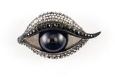 Right Eye Brooch