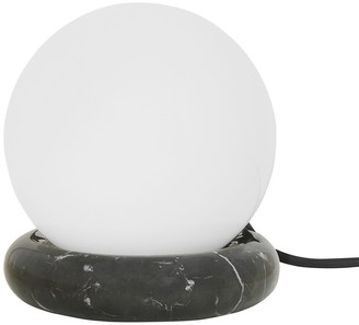 ferm LIVING Rest Glass & Marble Table Lamp