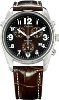 Jowissa Men's Ginebra Dial Chronograph Leather Watch
