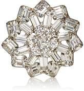 Stazia Loren Women's White Diamanté Brooch