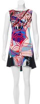 Emilio Pucci Silk-Blend Abstract Dress