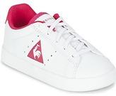 Le Coq Sportif COURTONE INF S LEA White / Pink