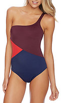 Nautica Topsail One Shoulder One-Piece
