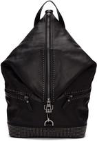 Jimmy Choo Black Mini Studs Fitzroy Backpack