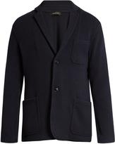 Ermenegildo Zegna Single-breasted wool and cashmere-blend jacket