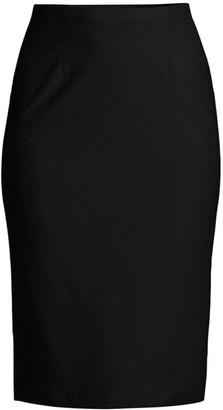 Eileen Fisher High-Waist Pencil Skirt