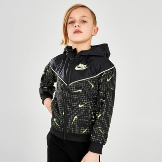Nike Little Kids' Sportswear Glow Windrunner Jacket