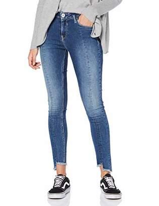 Garcia Damen Skinny Jeans Gs900714 Blau (Medium Used 4483) 40 (Herstellergröße: 31)