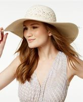 BCBGeneration Feather Weave Floppy Hat