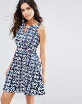 Louche Valeri Geo Print Dress