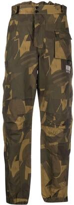 Billionaire Boys Club Camouflage Print Cargo Trousers