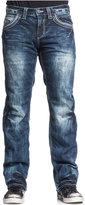 Affliction Men's Blake Fleur De Lis Relaxed-Fit Jeans, Valdez Wash