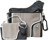 JJ Cole Collections System Diaper Bag, Black Stitch (Discontinued by Manufacturer) by