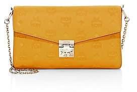 MCM Women's Medium Millie Monogram Leather Crossbody Bag