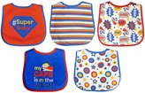 Neat Solutions Bib Set - Cotton - Super Baby - 5 ct