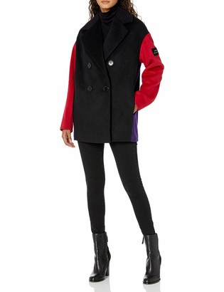 A|X Armani Exchange Women's Wool Pea Coat