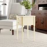 Birch Lane Barney End Table with Storage Heritage