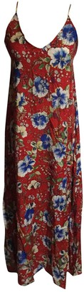 Non Signã© / Unsigned Red Cotton Dresses