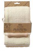 Hydrea London Sisal & Cotton Exfoliation & Massage Duo Strap