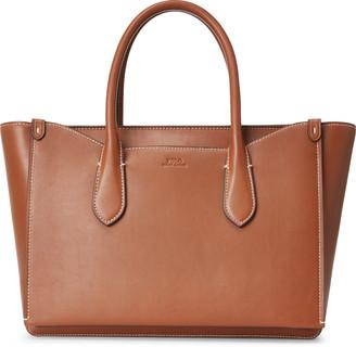 Ralph Lauren Leather Sloane Satchel