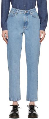 A.P.C. Blue 80s Jeans