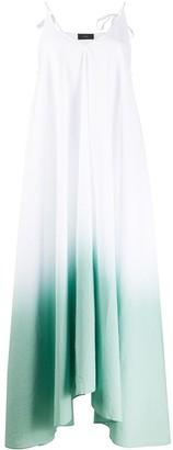 Alanui .gradient dyed maxi dress