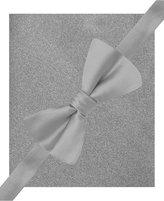 Alfani Spectrum Sateen Solid Pre-Tied Bow Tie & Pocket Square Set