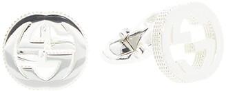 Gucci Interlocking G Cufflinks (Silver) Cuff Links