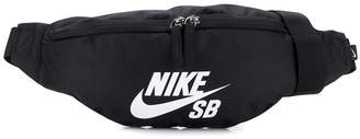 Nike logo print belt bag