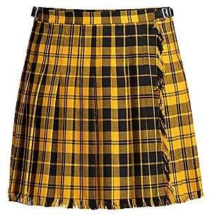 Polo Ralph Lauren Women's Nico Plaid Wool-Blend Wrap Skirt