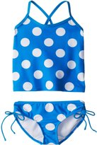 Kanu Surf Little Girls' Beachball Tankini Swimsuit