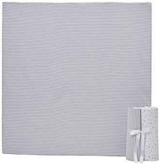 Clair De Lune Printed Cot Bed (Pale Grey, 3-Piece)