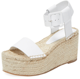 Vince Abby Leather Platform Espadrille
