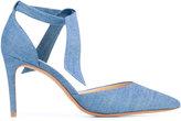 Alexandre Birman Cristinah denim sandals - women - Cotton/Leather - 37