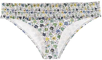 Tory Burch floral print bikini bottoms