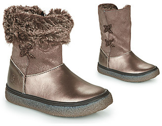 GBB OLINETTE girls's Mid Boots in Gold
