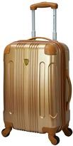 Travelers Club Polaris 20-Inch Metallic Hardside Spinner Carry-On Luggage