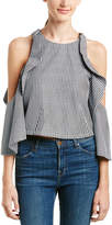 Do & Be DO+BE Do+Be Gingham Top